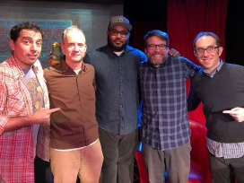 comic book club gideon kendall jason torress