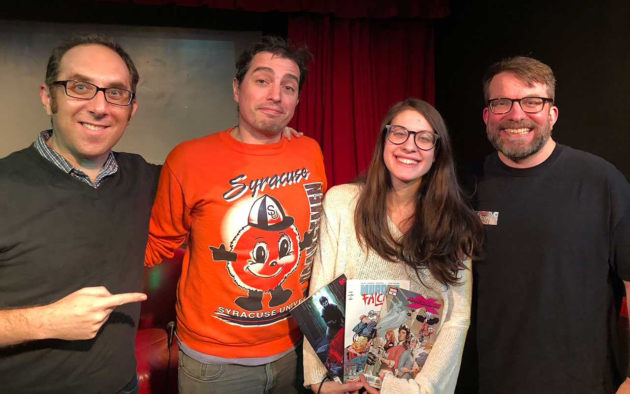 Comic Book Club Kim Alu