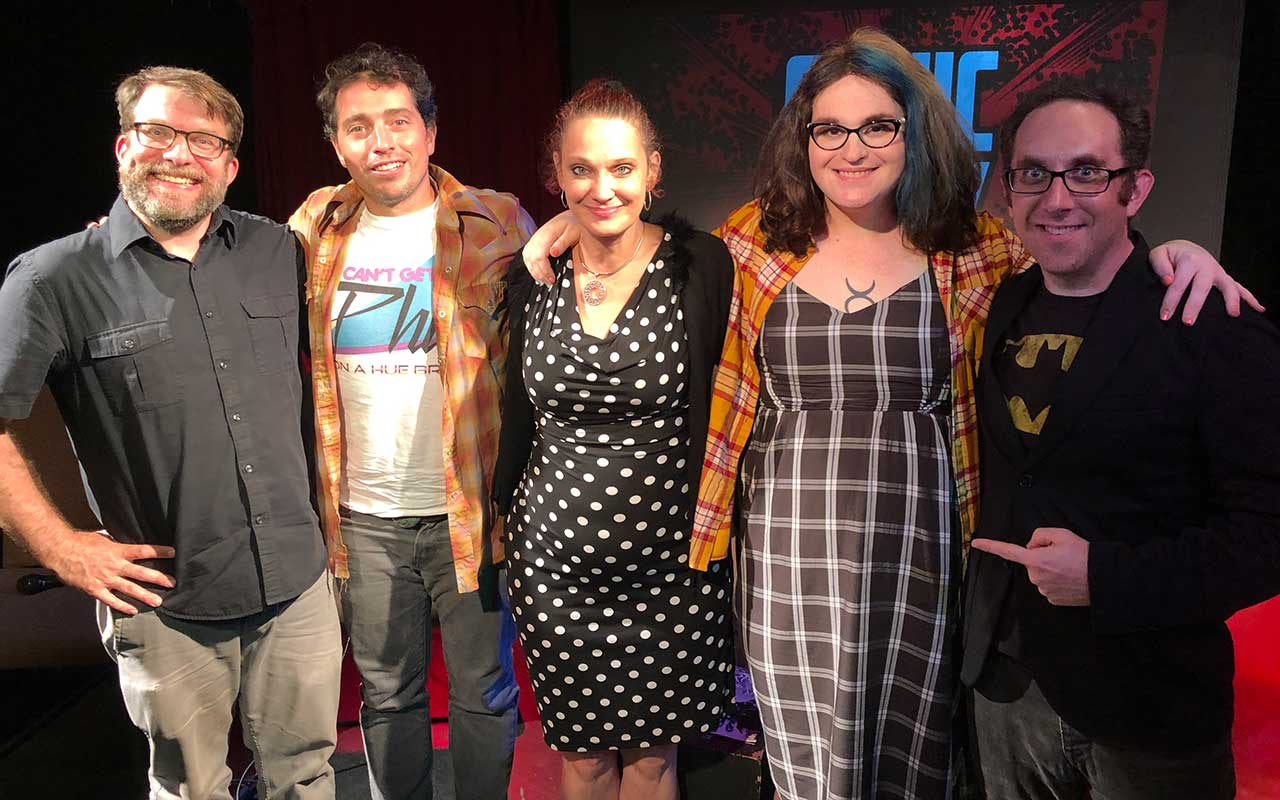 Comic Book Club - Lysa Hawkins and Magdalene Visaggio