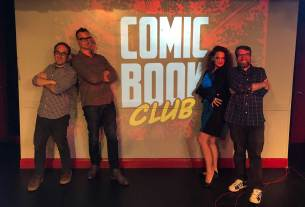 Comic Book Club - Robert Meyers and Lysa Hawkins