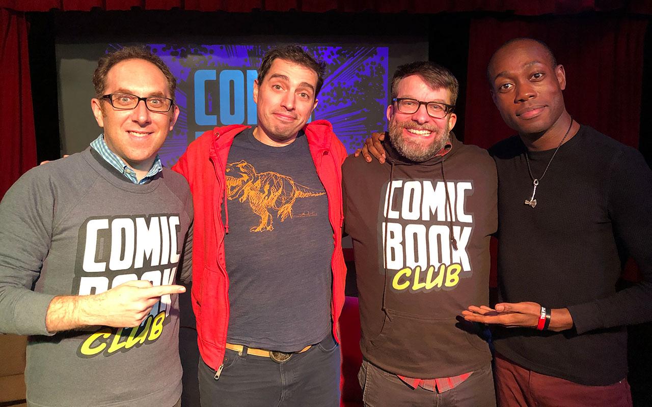 Comic Book Club Langston Belton