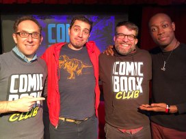 Comic Book Club Langston Belton