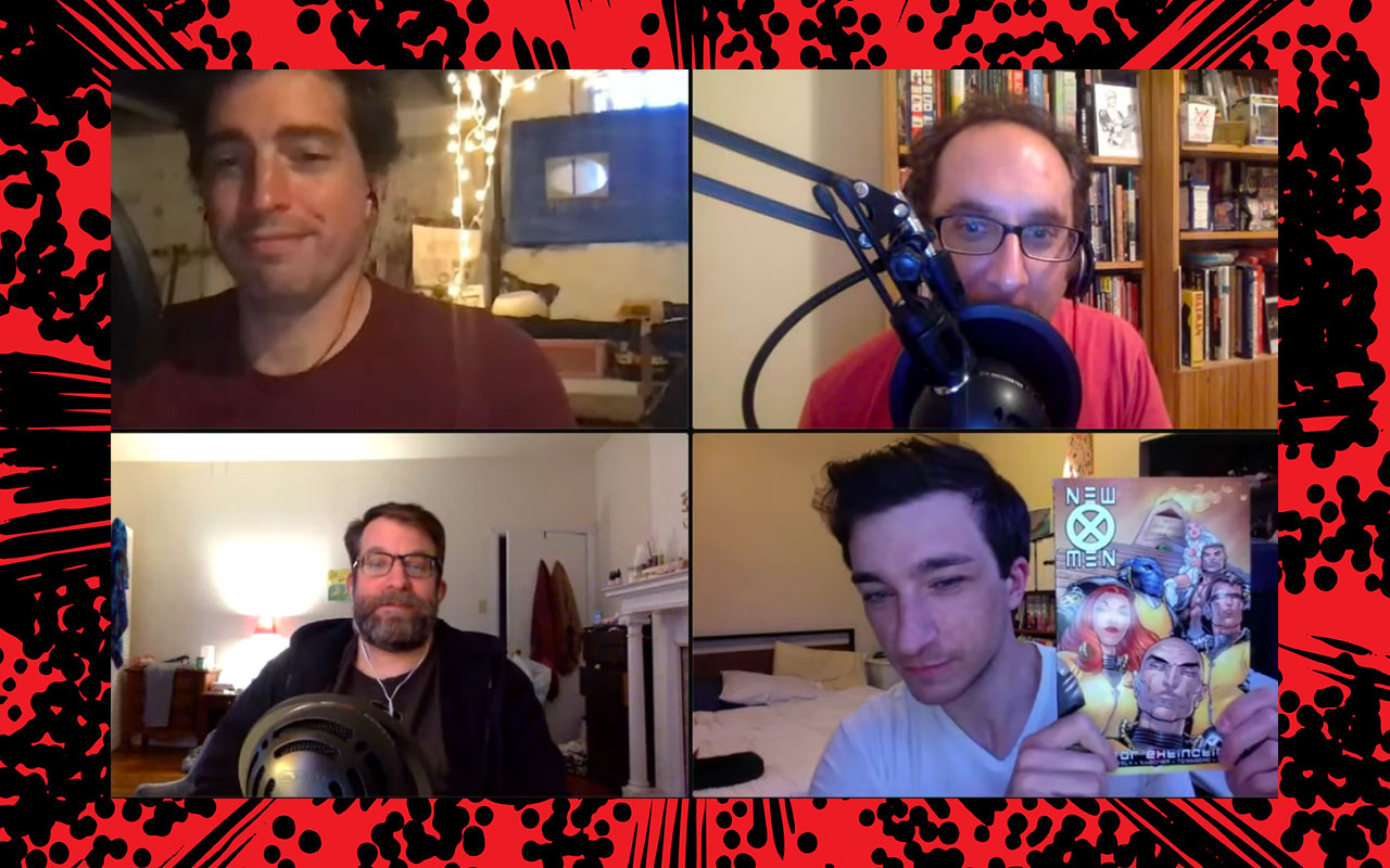 Comic Book Club New X-Men