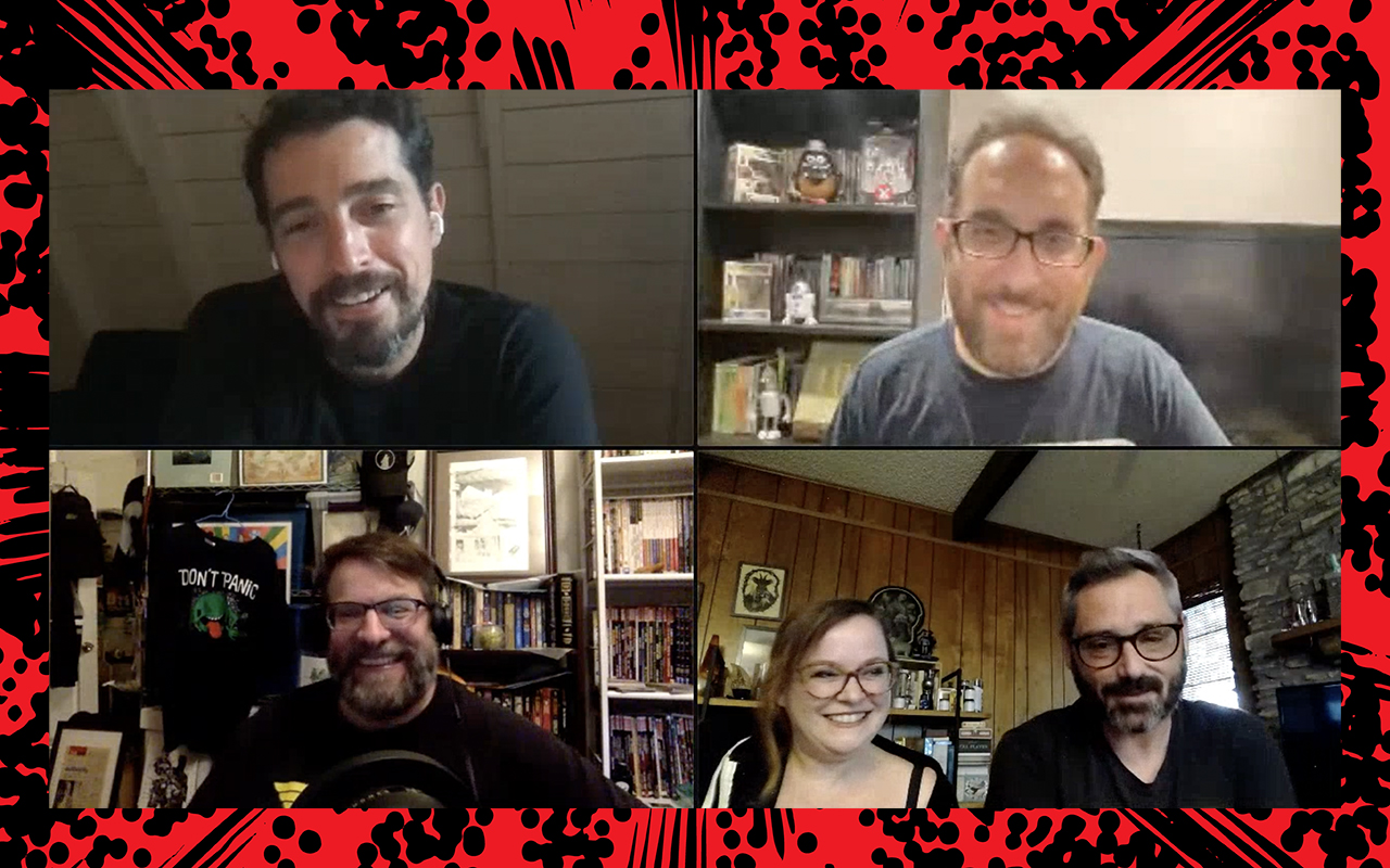 Comic Book Club Michael W Waldron and Becky Cloonan
