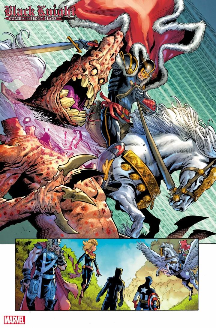 Black Knight: Curse of the Ebony Blade #1 Sneak peek page 2