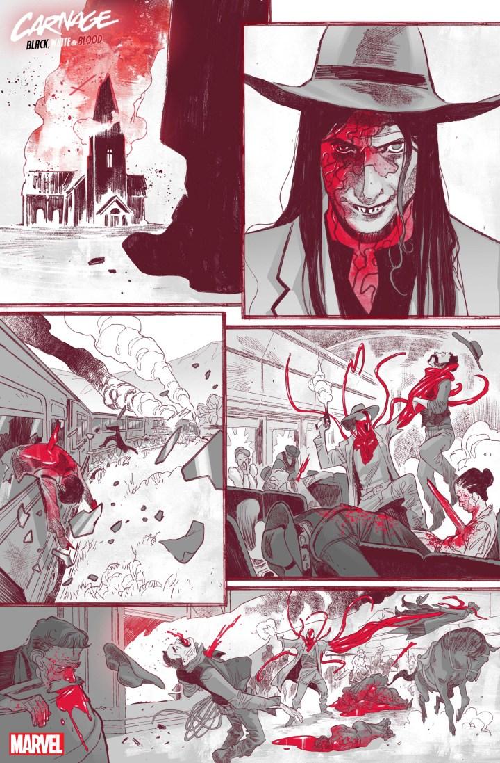 Carnage: Black White Blood #1 SP 3