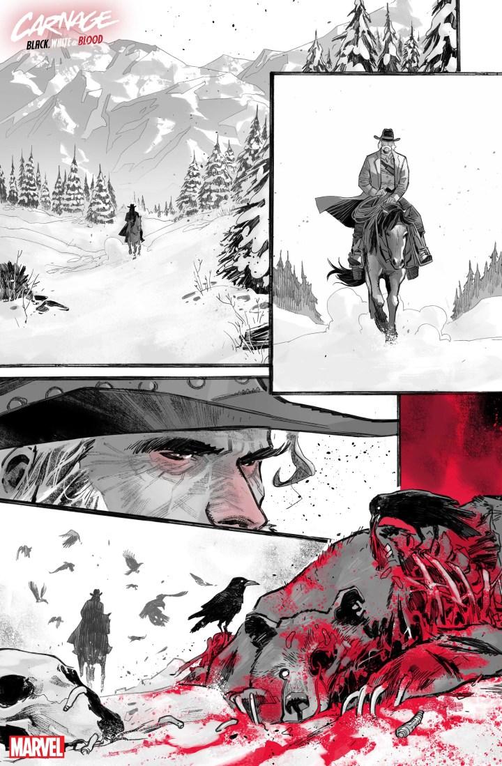 Carnage: Black White Blood #1 SP 4
