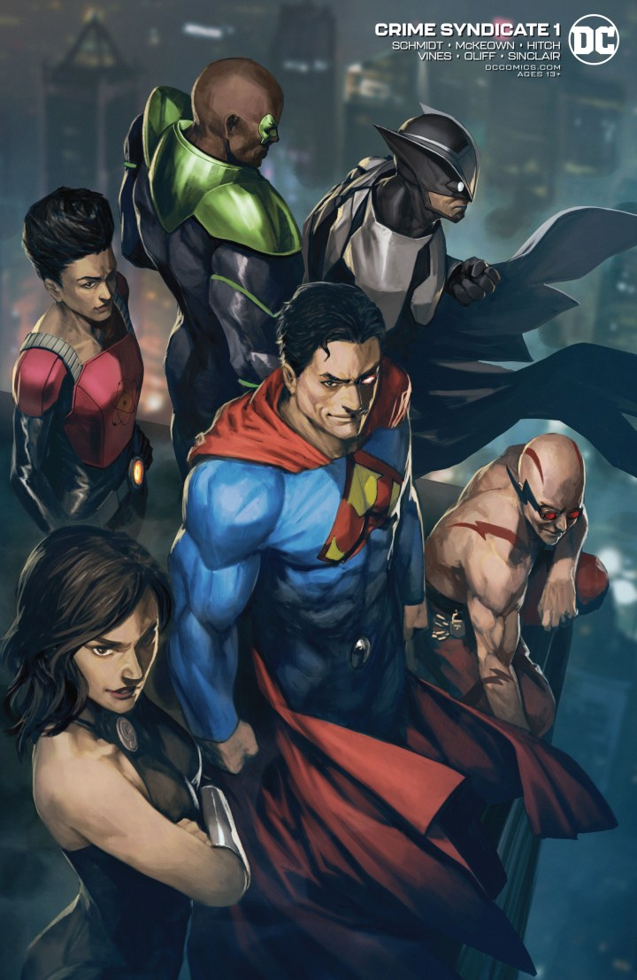 Crime Syndicate #1 Cover 2