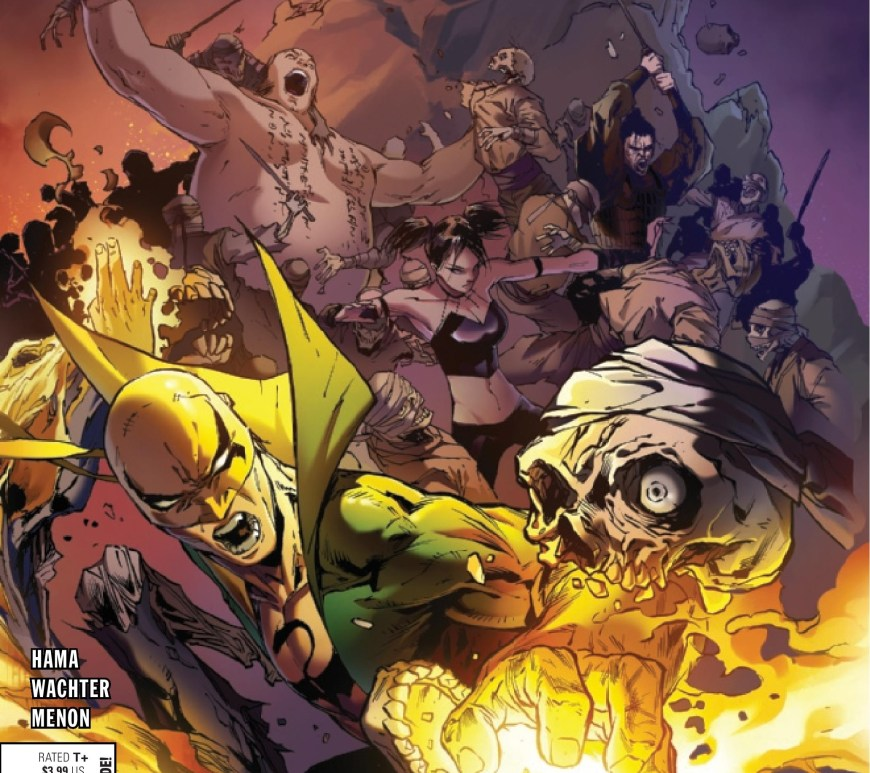 Iron Fist: Heart of the Dragon #2 cover 1