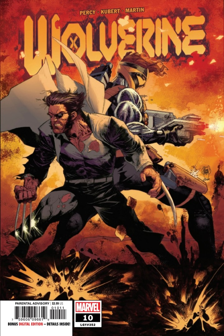 Wolverine #10 Cover 1