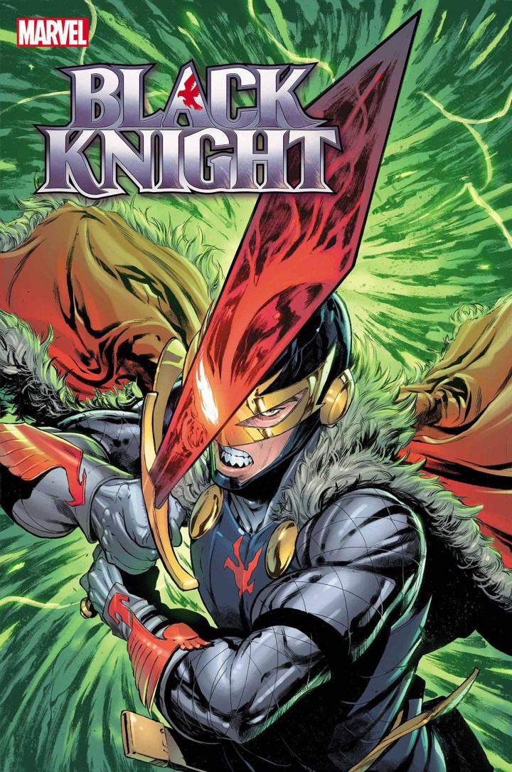 Black Knight: Curse of the Ebony Blade #1 Cover 1
