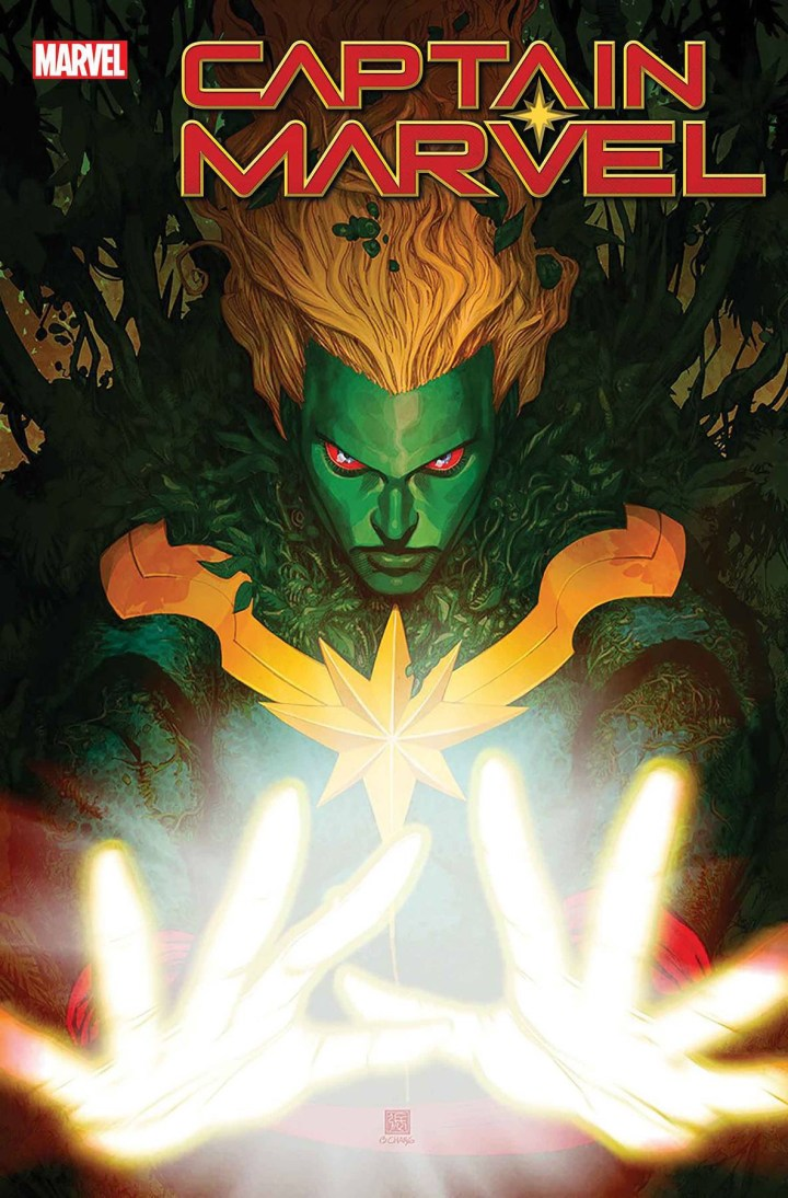 Captain Marvel #27 cover 2