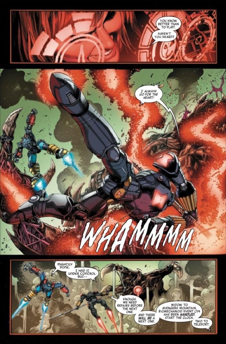 Avengers Mech Strike #2 pic 5