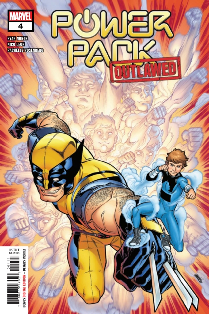 Power Pack #4 cover 1