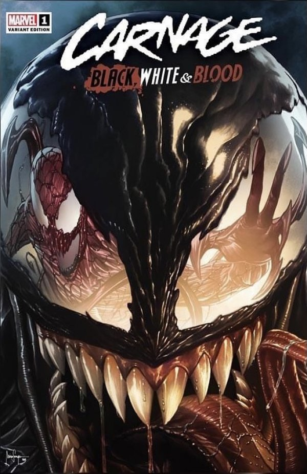 Carnage: Black White Blood #1 cover 2