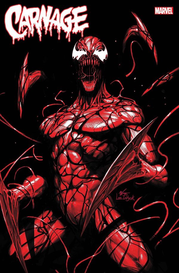 Carnage: Black White Blood #1 cover 4