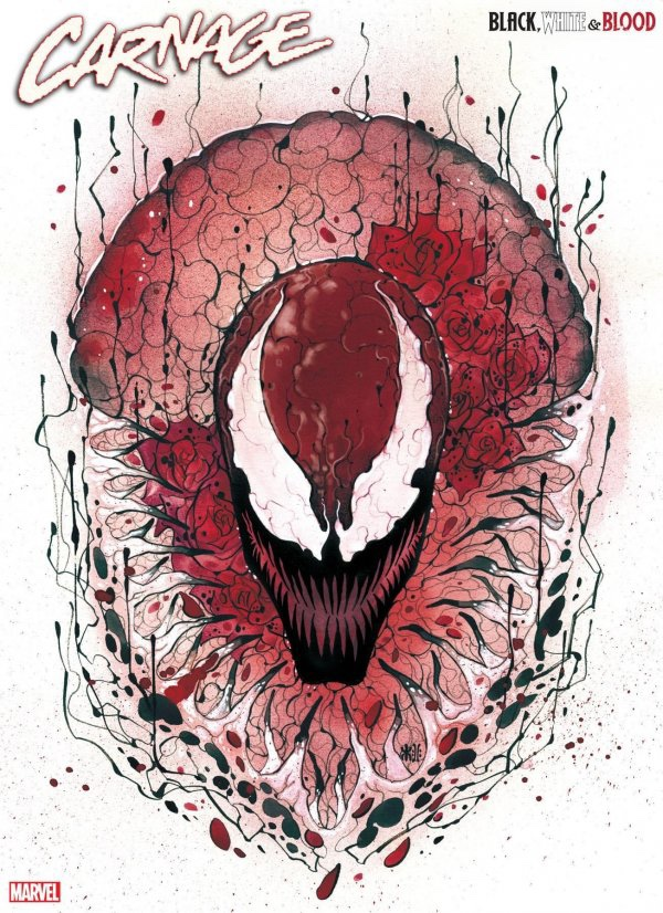 Carnage: Black White Blood #1 cover 5