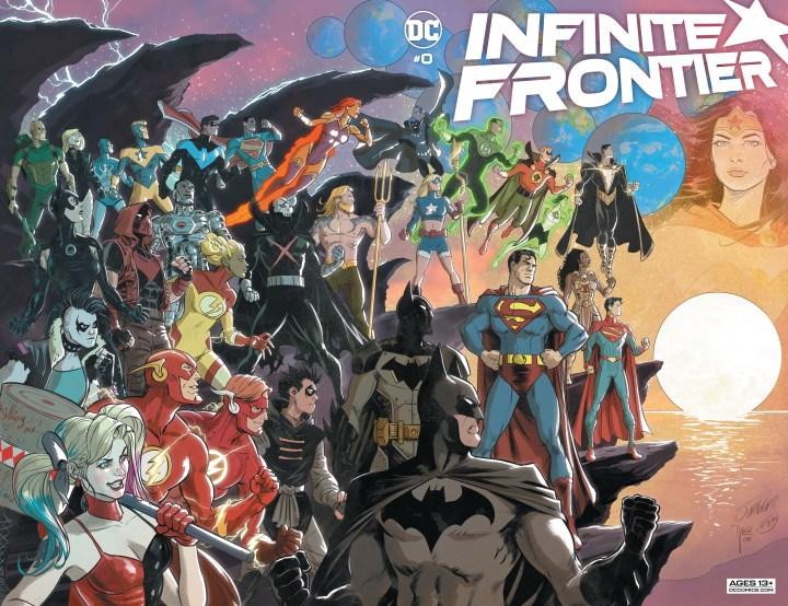 Infinite Frontier #0 cover 1