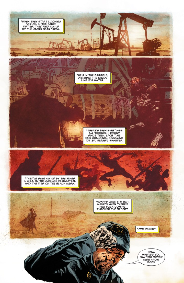Swamp Thing #1 Preview P4