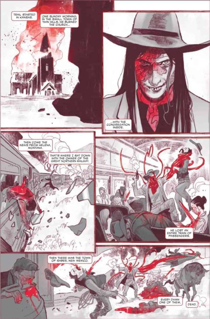 Carnage Black White Blood preview #4