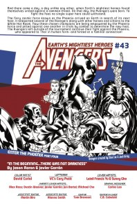 avengers #43 writer preview pic