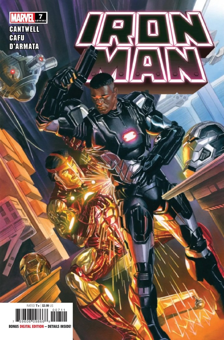Iron Man #7 cover 1