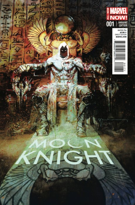 Moon Knight Vol 7 #1 (Bill Sienkiewicz Variant)