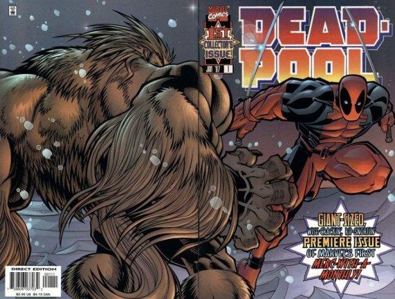 Deadpool Vol 2 #1 (1st App Blind Al and T-Ray)