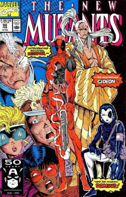 New Mutants #98 (1st Deadpool)