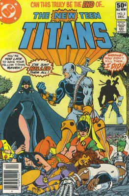 New Teen Titans #2 (1st Deathstroke)
