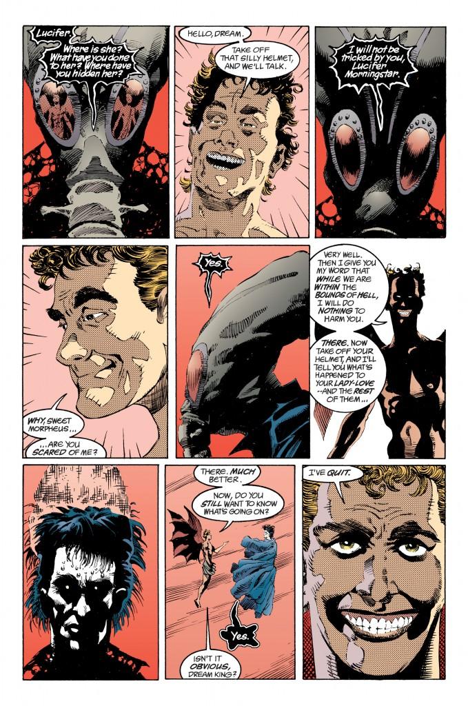 Sandman #23 interior page