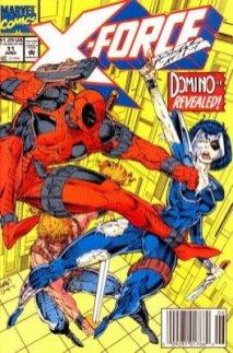X-Force #11 (2nd App Domino, 3rd App Deadpool)