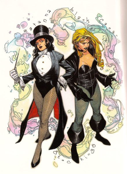 Zatanna & Black Canary