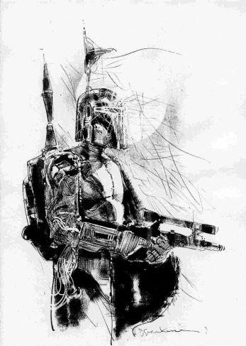 Boba Fett by Bill Sienkiewicz