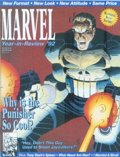 Marvel Year in Review '92