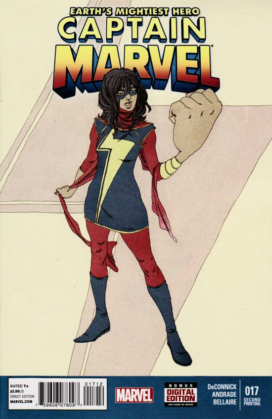 Captain Marvel #17 2nd Print