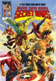Secret Wars Omnibus (Ross cover)