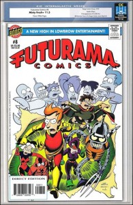 Futurama Comics #8
