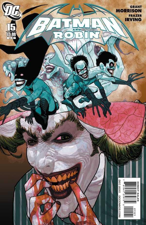 Batman and Robin #15 Variant