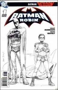 Batman and Robin #1 1:250 Sketch Variant
