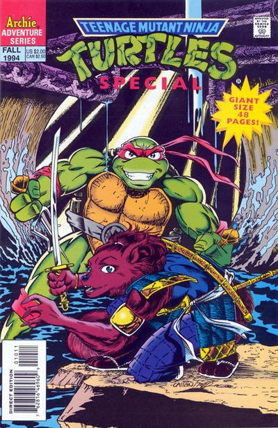 Teenage Mutant Ninja Turtles Special #10