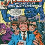 Avengers #239 David Letterman's 1st Appearance