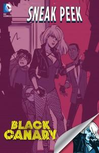 DC Sneak Peek - Black Canary (2015-) 001-000