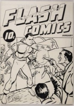 FLASH COMICS #1 Ashcan
