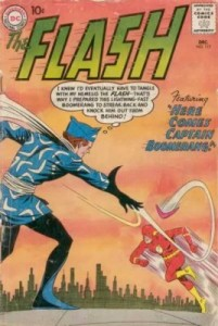 Flash #117 1st App Captain Boomerang