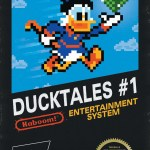 San Diego Comic-Con 2011 Exclusive Ducktales #1 8-Bit Variant Cover