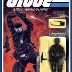 Hall of Comics Exclusive G.I. Joe #215 Snake Eyes Action Figure Variant