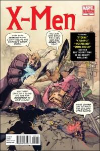 X-Men 19 Marvel 50th Anniversary Cover