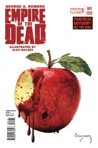 Empire of the Dead #1 Arthur Suydam 1:75 Variant