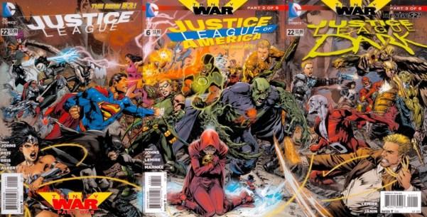 Justice League 22, Justice League of America 6 & Justice League Dark 22